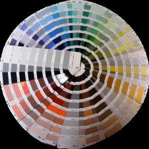 日本塗料工業会標準色