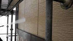 20140304ボナール高圧洗浄状況
