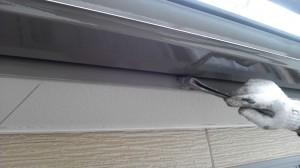 20140312ボナール破風塗装状況