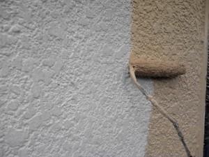 20140419小川邸外壁中塗り状況