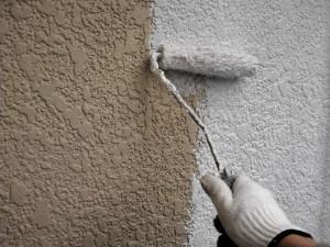 20140416小川邸壁下塗り状況
