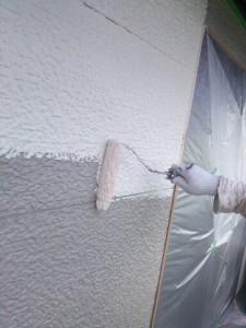 平井6月5日外壁上塗り状況