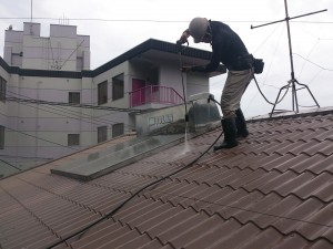 染矢0709屋根