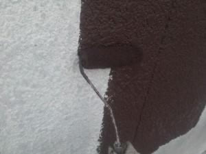 20141016西山ビル外壁中塗り