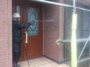 20150707外壁洗浄