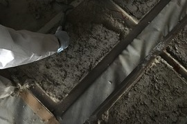 久留米大型施設アスベスト除去工事・本日アスベスト除去完了!の施工前画像