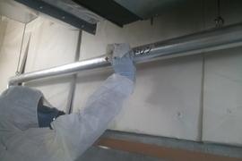 環境事業部活動!本日機械室除去工事完了!の施工前画像