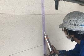 熊本八代古閑住宅・外壁シーリング工事に入りました!!の施工前画像