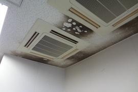 熊本大学の室内除防かび/塗装仕上げの施工前画像
