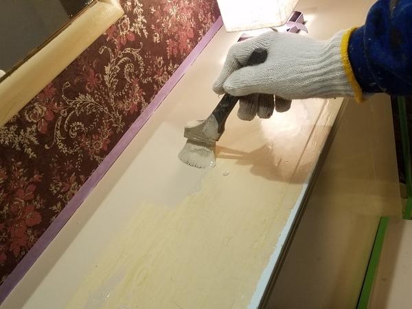 熊本ホテル・水性シリコン使用、内部塗装工事