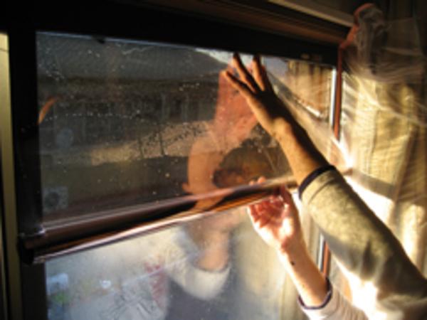 熊本 マンション窓フィルム施工例