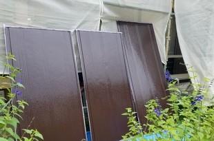 住宅雨戸塗装 益城町住宅塗装 の施工後画像