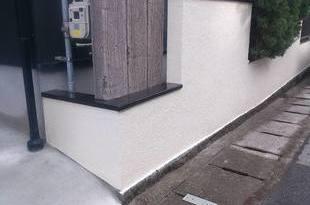 熊本地震被害修繕工事(土間・外壁・内壁・塀塗装仕上げ)の施工後画像