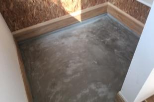 コンクリート土間表面護強化剤クリスタルハードナーNTの施工後画像