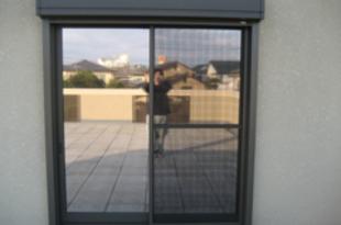 ウィンドウフィルム施工 熊本マンション窓の施工後画像
