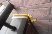 ベランダ笠木から外壁サイディングのシール切れ修繕工事