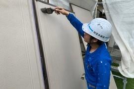 住宅雨戸塗装 益城町住宅塗装 の施工前画像