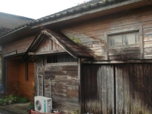 熊本の酒造会社木造建築物のレトロ仕上げ~柿渋/キシラデコール使用