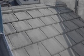 平瓦屋根塗装工事 の施工前画像