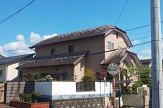 地震被害住宅 外壁屋根塗装工事 益城町