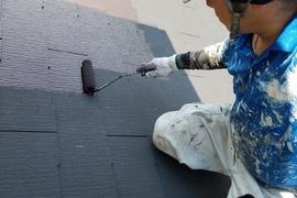 熊本・合志須屋住宅・屋根塗装工事状況です!!の施工前画像
