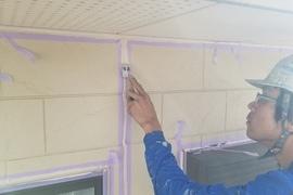 熊本・合志須屋住宅塗装・外壁シーリング工事開始しました!!の施工前画像