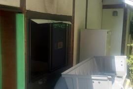 リフォーム窓交換後 窓周り補修後なくす塗装工法 (吹き付け工事仕上げ)の施工前画像