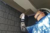 熊本住宅新築軒天井塗装工事