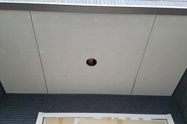 熊本住宅新築軒天井塗装工事の施工前画像