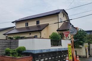 地震被害住宅 外壁屋根塗装工事 益城町の施工後画像