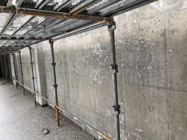 福岡県・グラインダー外壁塗膜剥離工事