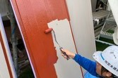 住宅雨戸塗装 益城町住宅塗装