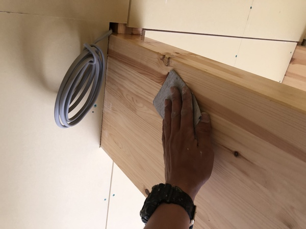 熊本阿蘇新築住宅塗装・軒塗装及び内部梁塗装完了しました!!
