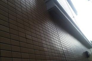 熊本マンション・アパート外壁磁器タイル塗装工法の施工後画像
