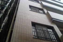 熊本マンション・アパート外壁磁器タイル塗装工法の施工前画像