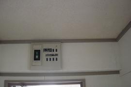 風呂場カビ除去工事 熊本団地内の施工前画像
