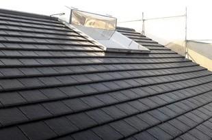 平瓦屋根塗装工事 の施工後画像