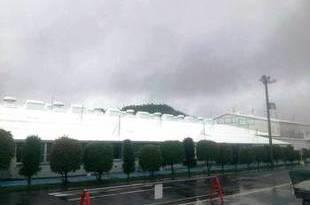 熊本工場スレート屋根遮断熱塗装 総勢20名で頑張りました。の施工後画像