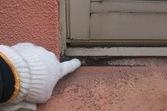熊本地震被害修繕工事(土間・外壁・内壁・塀塗装仕上げ)