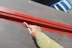 熊本市西区住宅 瓦棒屋根塗装工事