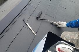 熊本南高江住宅塗装・コロニアル屋根水性シリコン塗装完了しました!の施工前画像