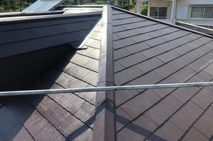 コロニアル(スレート)屋根塗装工事 熊本住宅の施工後画像