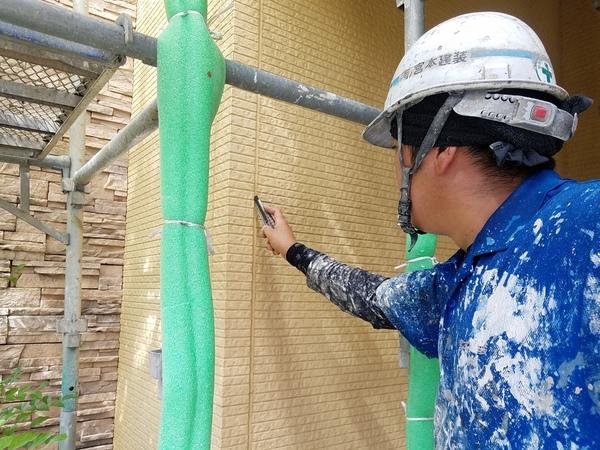 熊本徳王住宅・外壁塗装前シーリング打ち替え工事