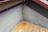 ベランダ雨漏れ修繕工事 下地補強後ウレタン防水