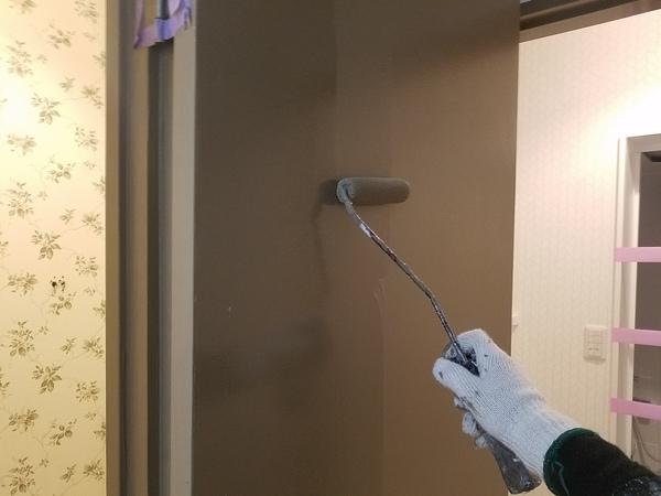 熊本下通りホテル・内部木部塗装完了しました!!
