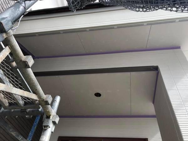新築軒天井下地処理込み塗装工事 熊本市北区麻生田住宅