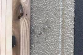 目隠し格子取り付け後補修塗装工事 の施工前画像