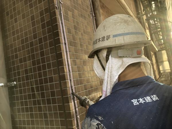 熊本渡鹿住宅塗装・外壁・目地、サッシ等シーリング工事