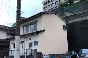 外壁モルタル仕上げ後 復旧吹付仕上げ塗装工事 の施工後画像
