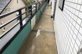 熊本市東区佐土原 会社ベランダ廊下土間防水工事